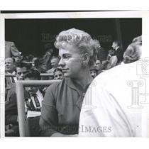 1959 Press Photo Mrs Ted Kluszewski Pittsburgh Pirates - RRQ23447