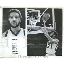 1978 Press Photo Denver Nuggets Bo Ellis Layup Promo - RRQ24065