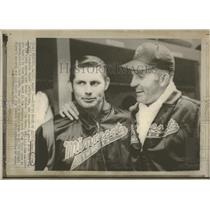 1970 Press Photo Minnesota Twins Players Alyen Perry - RRQ24243