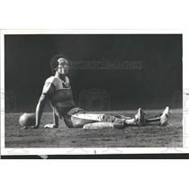 1978 Press Photo Astros Cobell Sitting Second Base Out - RRQ24251