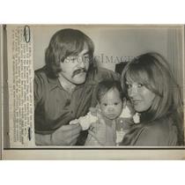 1975 Press Photo Rogie Vachon Los Angeles Kings MVP - RRQ24497