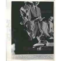 1969 Press Photo Ewing Kauffman of Kansas City Royals - RRQ27821