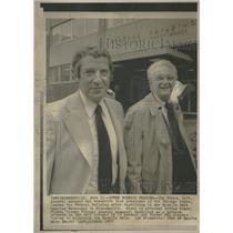 1975 Press Photo Jim Finks General Manager Chicago Bear - RRQ28041