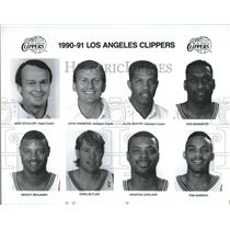 1990 Press Photo Los Angeles Clippers - RRQ36137