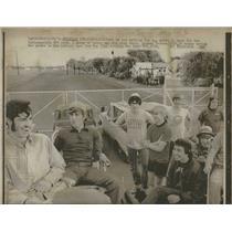 1971 Press Photo Gates Indianapolis Race Tracks - RRQ22501