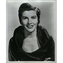 1959 Press Photo Kathi Norris television hostess