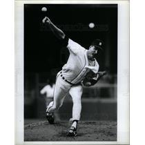 1989 Press Photo Jack Morris Player Baseball