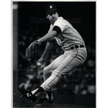 1983 Press Photo Jack Morris MLB Baseball Pitcher