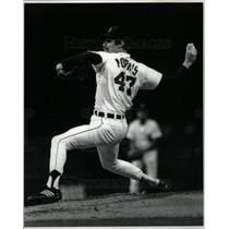 1982 Press Photo Jack Morris Tigers