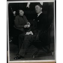 1933 Press Photo Madame Tussauds wax museum London
