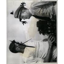 1944 Press Photo Lt. Comdr. Jack Meagher