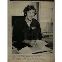 1972 Press Photo Bill Simpson Michigan State MSU