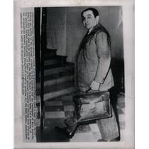 1954 Press Photo French Premier Pierre Mendes-France