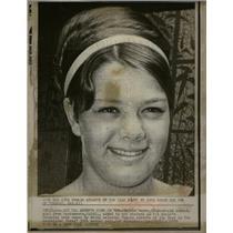 1970 Press Photo Debbie Meyer 17 Female Athlete Calif