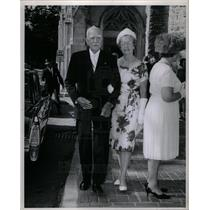 1964 Press Photo Mr Mrs Charles Matt Flinch