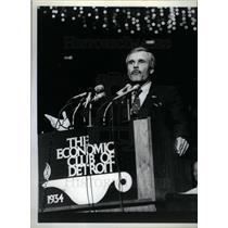 1985 Press Photo Ted Turner