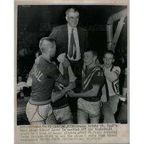 1961 Press Photo Edward Lauer,Class C Championship