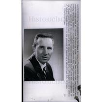 1961 Press Photo James Lavery Coach Indiana University