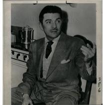 1949 Press Photo Robert W.Wilcox Actor