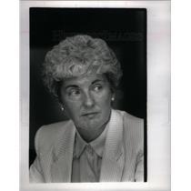 1989 Press Photo Mary Ryan Right to Life Michigan