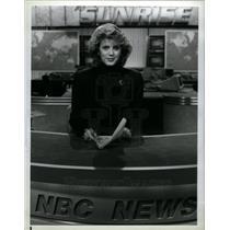 1990 Press Photo Deborah Norville