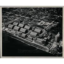 1949 Press Photo recent aerial world alcohol plant