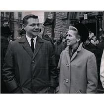 1965 Press Photo John Swainson Wife Governor Michigan