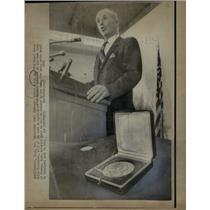 1970 Press Photo Dr Norman Borlaug 1971 nobel prize