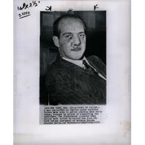 1953 Press Photo Italian Pietro Mele accused assault NY
