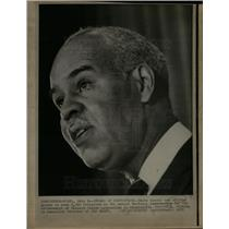 1971 Press Photo Roy Wilkins NAACP Convention Director - DFPD55895