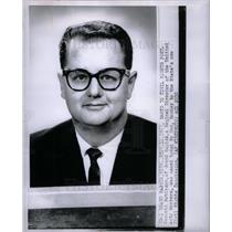 1963 Press Photo Kenneth Robinson Civil Rights - DFPD66509