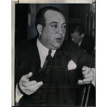 1943 Press Photo R J Thomas UAW