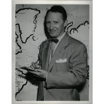 1955 Press Photo Ulmer Turner WBKB News Editor