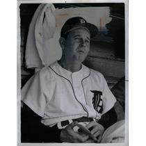 1958 Press Photo Bill Norman Baseball Player