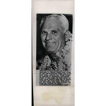 1954 Press Photo Lawrence T. (Buck) Shaw fired 49ers - dfpd37117