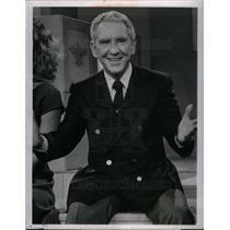 1980 Press Photo Burgess Meredith american film actor