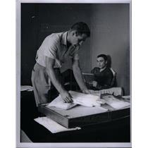 1957 Press Photo Charley Lau Catcher Reno Bertoia