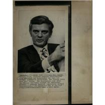 1973 Press Photo Illinois Governor Daniel Walker