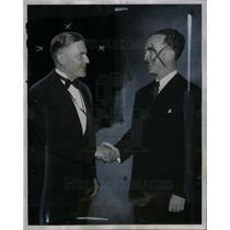1939 Press Photo Alexander Grant Ruthven President