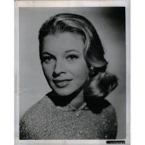 1960 Press Photo Dolores Michaels TV Film Actress