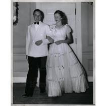 1940 Press Photo Spike Briggs Jane Son Tigers Owner - DFPD21697