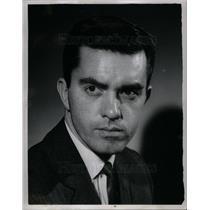 1959 Press Photo Gar Meadowcroft WHFI Radio