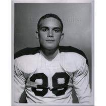 1957 Press Photo Bill Reed ice hockey - DFPD20559