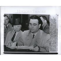 1959 Press Photo Cus D'Amato boxing manager subpoenaed