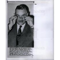1960 Press Photo John B. Medaris Maj. Gen. Army Miss.Pr