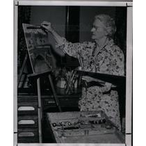 1947 Press Photo Miller Art