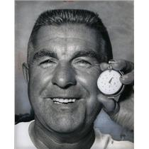1965 Press Photo Chuck Thompson, boat racer