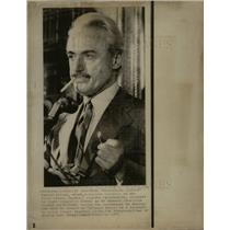 1973 Press Photo Marvin Miller executive of the Major L
