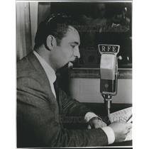 1958 Press Photo News is broadcast every hour by Radio Free Europe. - mjx46617
