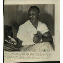 1954 Press Photo Middleweight Boxer Bobby Jones - sas11214